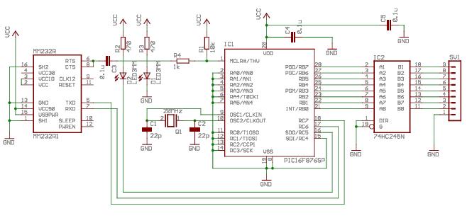simple usb 8 channels logic analyzer rh f6fbb org logic analyser diagram logic analyzer circuit diagram